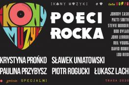 Lublin Wydarzenie Koncert Ikony Muzyki — Poeci Rocka